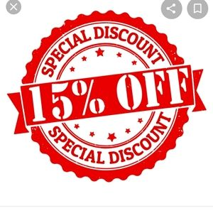 15% Off 2** Items or More